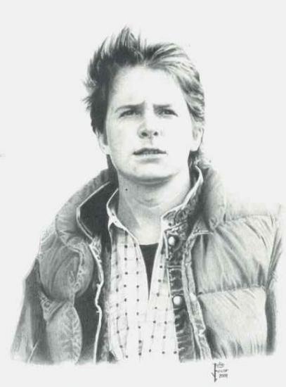 Michael J Fox por JULIOART
